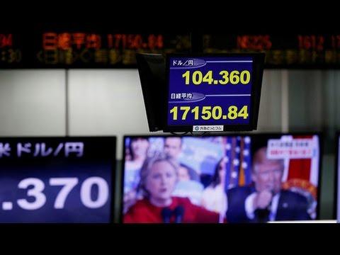 [09 November 2016] Trump\'s presidential victory shakes global markets | Press TV English