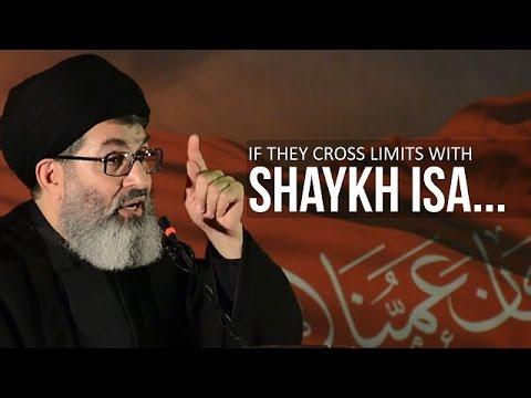 If They Cross Limits With Shaykh Isa...   Sayyid Hashim al-Haidari   Arabic sub English