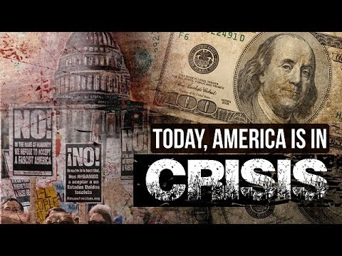 Today, America is in Crisis | Leader of the Muslim Ummah | Farsi sub English