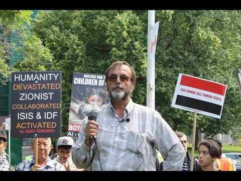 Br Ali Mallah at Toronto Al-Quds Day Rally 2017