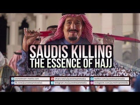 Saudis Killing the Essence of Hajj   Farsi sub English