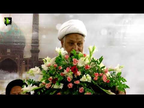 [مہدویت امید بشریت کنونشن2017] Speech: H.I Moulana Ghulam Abbas Raeesi   ISO Khi Division - Urdu