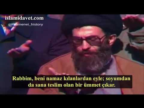 İmam Ali Hamaney Dua - Arabic sub Turkish