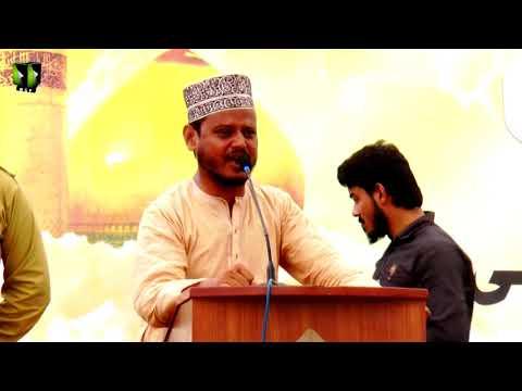 [Youm-e-Hussain as] Janab Nasir Azizi   Jamia Karachi KU   Muharram 1439/2017 - Urdu
