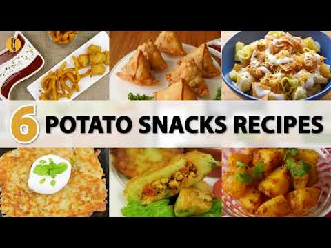 Quick Recipes - 6 must try Potato snacks recipes - English Urdu