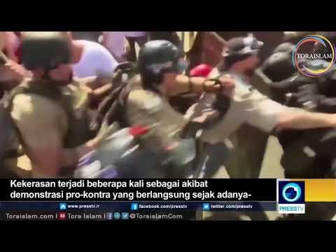 [Clip] Penabrakan Demonstran AS oleh Supremasis Kulit Putih - Malay