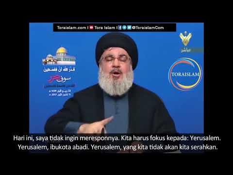 [Clip] Takdir Allah Palestina akan Merdeka (bag .7 selesai) | Sayyid Hasan Nasrallah - Arabic sub Malay