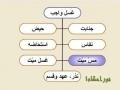 نور احکام 1 - توضیح المسایل Persian غسل و انواع آن