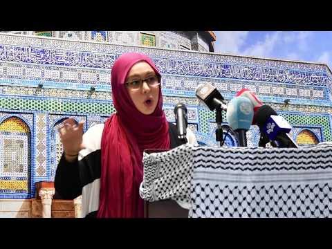 Nargess Moballeghi  - #FreePalestine: The Future of Jerusalem - English