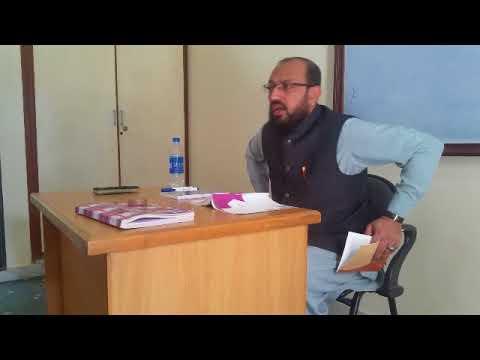 [ؒLecture] Topic: What is Counseling | H.I Sadiq Raza Taqvi - Urdu