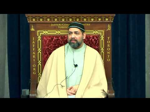 Thursday Night Majlis - Br. Syed Asad Jafri Dec.2017 - English