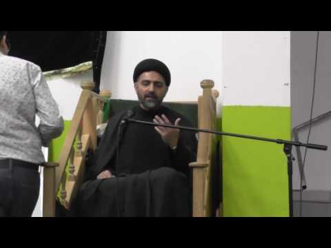 Majlis e Shahadat e Bibi Fatima Zahra s.a 4th Jamadi ul Sani 1438 Hijari By H I Syed Nusrat Abbas Bukhari - Urdu