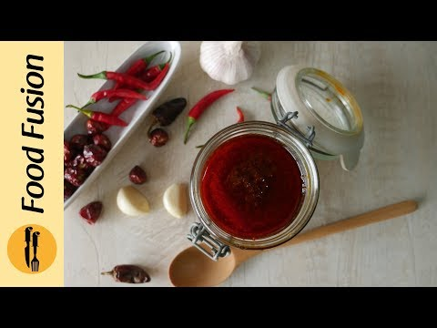 [Quick Recipes] Secret Red Chili Paste - English Urdu