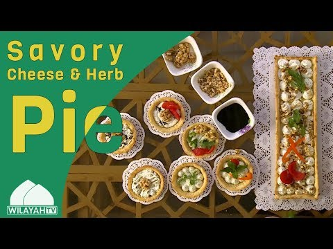 Cooking Recipe - Savory Cheese & Herb Pie - English