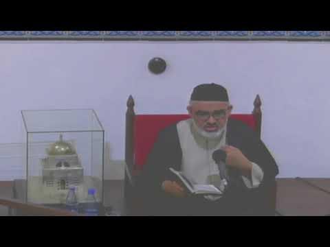 [8th Night Mahe Ramadhan] Topic: Surah Luqman - Agha Syed Ali Murtaza Zaidi 2018 Urdu