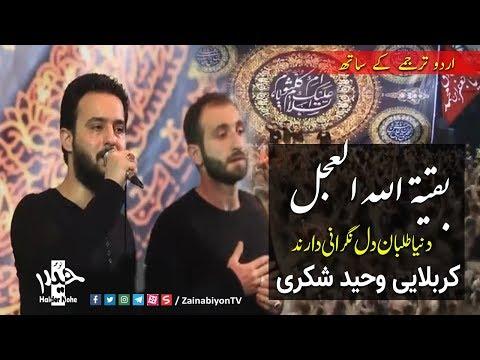 دنیا طلبان دل نگرانی دارند - وحید شکری | Farsi sub Urdu