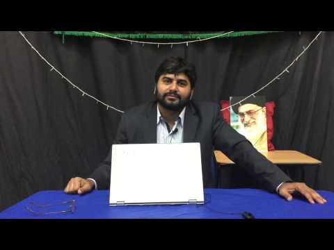 13th June 2015 Shiyan-e-Pakistan aur United Kingdom mein Zindagi By Syed Arif Ali Rizvi at Idara-e-Jafferiyah London - U