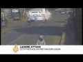 CCTV Footage of Attack on Rescue-15 Building in Lahore Pakistan - All Languages