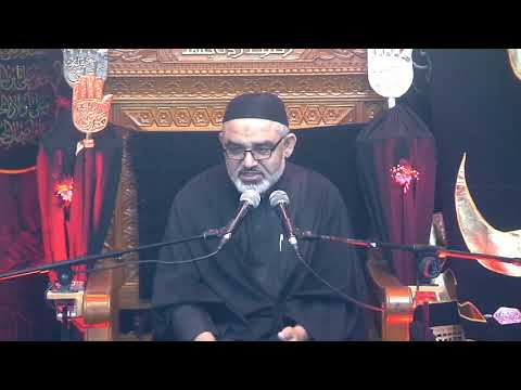 [4Majlis Muharram 1440/11.09.2018] Topic:Karbala sy Zahoor tak Nusrat e Imam Ky Marahil   H.I Ali Murtaza Zaidi - Urdu
