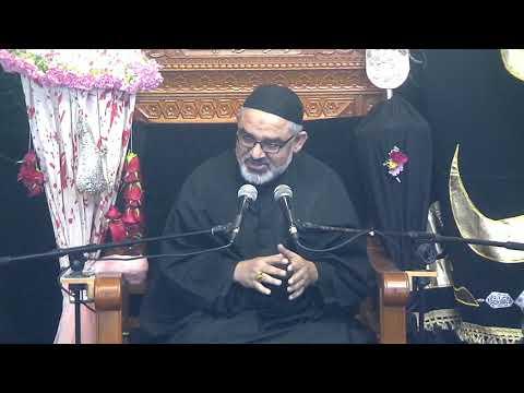 [Eve 9th Muharram1440]Topic: Karbala sy Zahoor tak Nusrat e Imam Ky Marahil H.I Syed Ali Murtaza Zaidi 18/09/2018 Urdu
