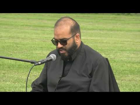 Speech by Moulana Farazdaq Razavi - Toronto Ashura Day Procession 2018 -English