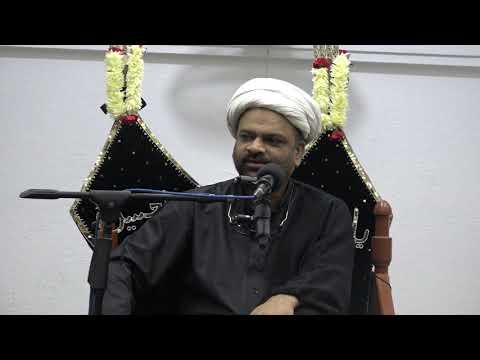 Majlis-E-Aza Shab 20th Muharram 1440 Hijari 30th Sep 2018 By H I Ghulam Raza Roohani at Mehfil-e-Murtaza-Urdu