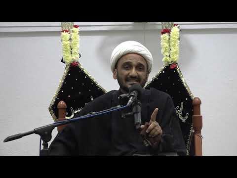 Majlis-E-Aza Shab 30th Muharram 1440 Hijari 10th October 2018 By Maulana Qamar Ali Lilani at Mehfil-e-Murtaza - Urdu