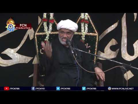 Majlis-E-Aza 2nd Safar 1440/12th October 2018 Topic:Mulaqat e Imam e Zamana(a.t.f.s) By H I Nadir Sadqi - New Najafi Hal