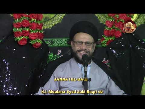 7th Majlis 8 Safar 1440 Topic: Let\'s Understand Our Children By Moulana Zaki Baqri - Urdu