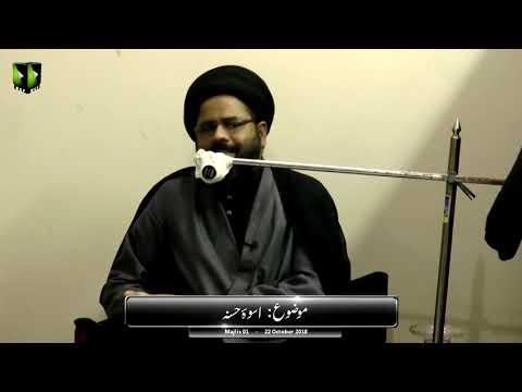 [1] Topic: Uswa-e-Hasana - اسوۂ حسنہ   Moulana Syed Ali Afzaal   Safar 1440 - Urdu