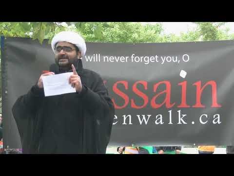 Toronto Arbaeen Walk 2018 - Speech by Shaykh Hasnain 27 October 2018 English
