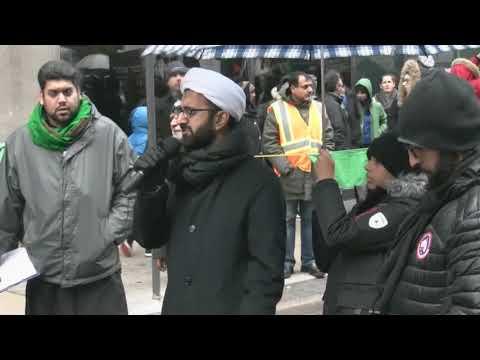 Toronto Arbaeen Walk 2018 - Speech by Shaykh Salim YusufAli - 27 October 2018 English