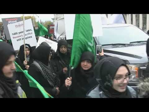 Toronto Arbaeen Walk 2018 - Full Coverage   27 October 2018 All Languages