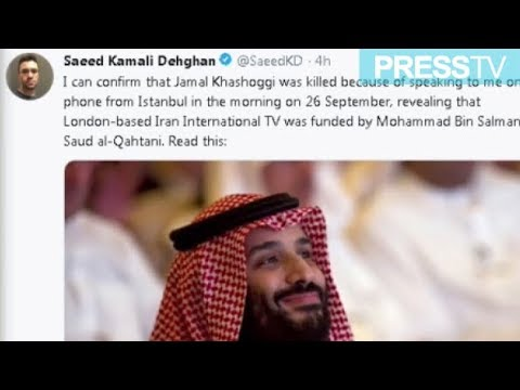"[10 November 2018]  ""Khashoggi revealed anti-Iran TV\'s funding\"" - English"