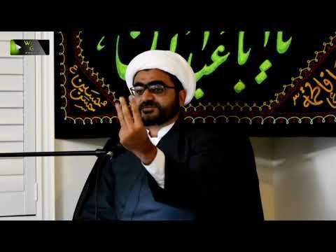 [Majlis] سیرت اہلبیتؑ پرعمل، شیعان اہلبیتؑ کا فریضہ   H.I Shaykh Muhammad Hasanain -