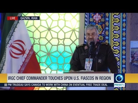 [15 November 2018] IRGC chief commander touches upon U.S. fiascos in region - English