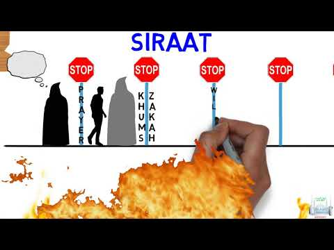 Resurrection Lesson 13 - The Siraat Bridge- English