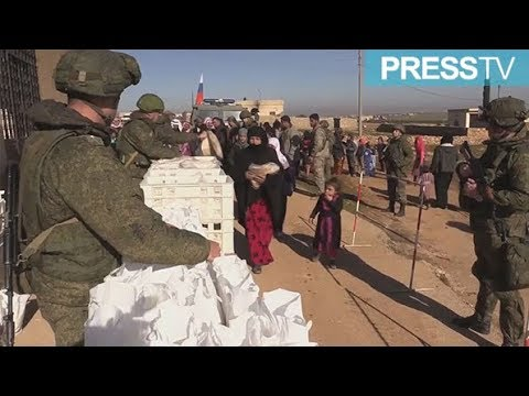 [22 January 2019] Russia delivers humanitarian aid to Manbij residents - English