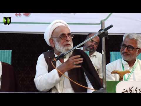 [Speech] H.I Haider Ali Jawadi | Seerat Ali (as) Nijaat e Bashariyat Convention 2019 - Sindhi