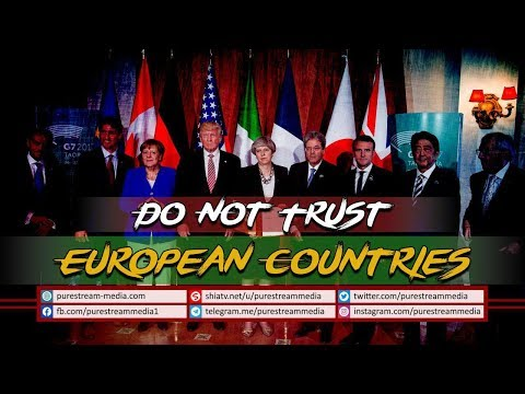 Do Not Trust European Countries | Leader of the Islamic Revolution | Farsi Sub English