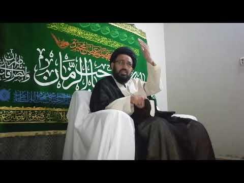 [2] Topic:  Dua e Iftitah - دعا افتتاح   H.I Sadiq Raza Taqvi - Urdu