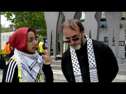 [Interview] Ali Mallah   Annual Walk for Al Quds 2019   Toronto, Canada - English