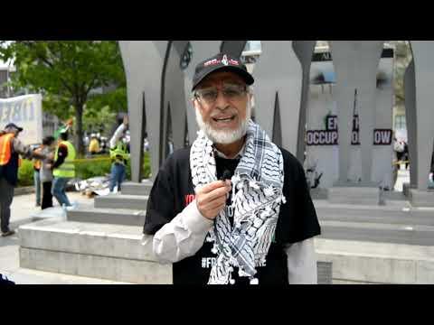[Interview] Imam Zafar Bangash   Annual Walk for Al Quds 2019   Toronto, Canada - English