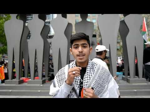 [Interview] Br. Hussain Mujtahdi   Annual Walk for Al Quds 2019   Toronto, Canada - English
