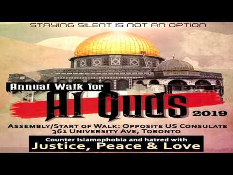 Toronto Al-Quds Rally 2019 - English