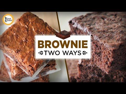 [Quick Recipes] 2 Delicious Brownie Recipes - English Urdu
