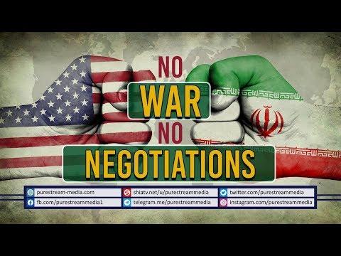 NO WAR NO NEGOTIATIONS | A brief Report about IRAN - US relations | Farsi Sub English