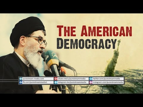 The American Democracy | Sayyid Hashim al-Haidari | Arabic Sub English
