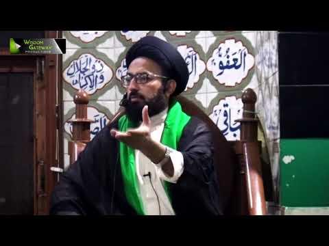 [03] Topic: Baserat, Istiqamat, Marfat, Or Nusrat e Imam | H.I Sadiq Taqvi - Urdu