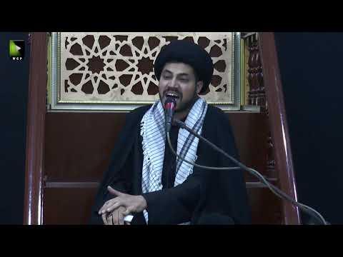 [03] Topic: Nusrat-e-Imam Hussain (as) | Moulana Haider Ali Jafri | Muharram 1441/2019 - Urdu